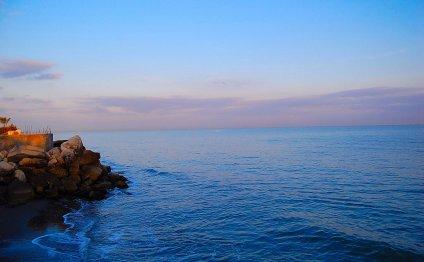Фотография Каспийского моря