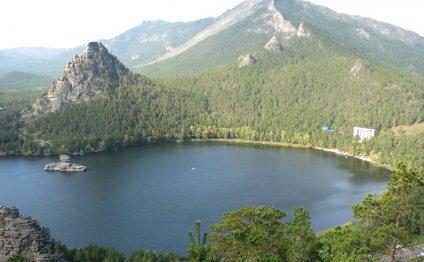 виды на озеро Боровое