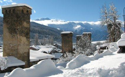 Местия – горнолыжный курорт